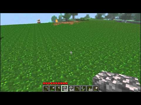 Minecraft How To Build castle part one видео