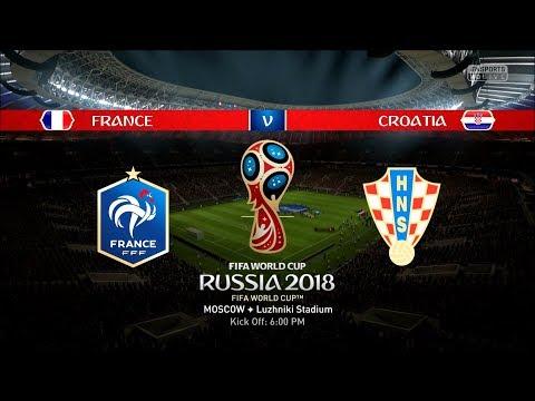 FIFA World Cup 2018 | Final | France Vs. Croatia