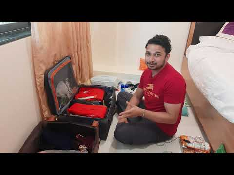 Before Joining LUGGAGE packing for SEAFARER   MERCHANT NAVY