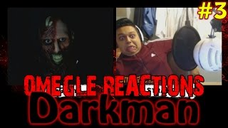 """Omegle ban is finally over and here is a brand new Scare Prank for you weirdos! Scary Darkman is back on Omegle, looking for some puzzy :3--------------------------------------------------Keep stalking me: - https://twitter.com/TheAzGarot - https://www.facebook.com/TheAzGarot-  http://instagram.com/TheAzGarot-  https://vine.co/AzGarot--------------------------------------------------This is another video of mine with a bunch of spontaneous, hilarious Omegle reactions. For all of you Omegle fans, check it out, feel free to comment and share, I am sure you will enjoy it. It's unbelievable how easy it is to scare people on video chats, I get a ton of angry, boring, funny, adult (read: masturbating! xD) reactions every day but I give you the very best of them in my prank videos.I am one of those Omegle junkies and I want to share my experience with you guys, I am sure that there are a lot of like minded people out there. Who knows, maybe your reaction is in one of my videos :)--------------------------------------------------For all of you who don't know what Omegle is, it is a website where you can meet and chat with random people from all around the world. Here is a link to the website: - http://www.omegle.com/Another website, pretty much the exact same thing as Omegle is Chatroulette. Here is a link: - http://chatroulette.com/--------------------------------------------------There is also a couple of Youtube videos and channels I would highly recommend you to see. If you are a Chatroulette or Omegle fan, I am positive that you will have a lot of fun with these: 1. This is a somewhat viral video of people getting scared on Chatroulette """"The last exorcism"""" style, a must see for online prank fans: - https://www.youtube.com/watch?v=CNSaurw6E_Q 2. Here is another video which is similar to what I do, basically a reactions video of people getting scared, the only difference is that Pinkstylist uses make up while I am using masks. I will also give you a link to his Youtube p"""