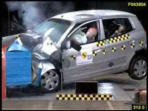 Kia Picanto 5D Краш-тест Kia Picanto от EuroNCAP. Фронтальный удар