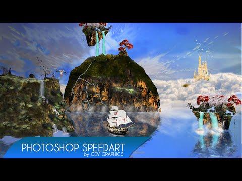 Fantasy World | Just 4 Fun - Photoshop Speedart
