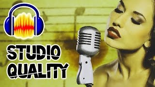 """Video Make ANY Microphone Sound STUDIO QUALITY!!! - """"How to make your Mic Sound Better""""(Audacity Tutorial) MP3, 3GP, MP4, WEBM, AVI, FLV Mei 2019"""