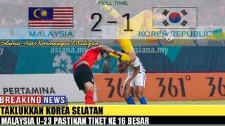 Video Taklukkan Korea Selatan, Malaysia U-23 Pastikan Tiket ke 16 Besar MP3, 3GP, MP4, WEBM, AVI, FLV Agustus 2018