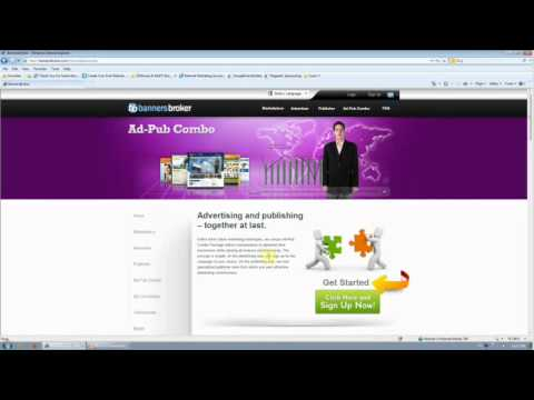 How To Make Money From Advertising Online With Banners Broker