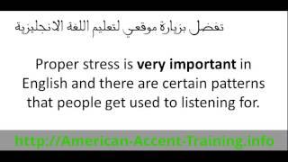 دورة تحدث اللغة الانجليزية - الدرس الاول