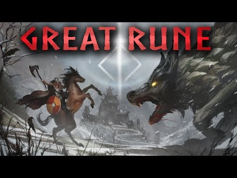 "Introducing ""Great Rune"", An Open World Game By From Software & George R. R. Martin"