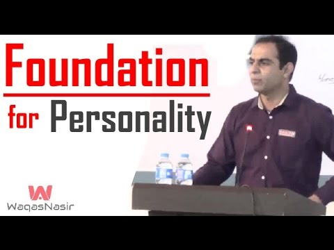 The Foundations Of Personality -By Qasim Ali Shah | In Urdu
