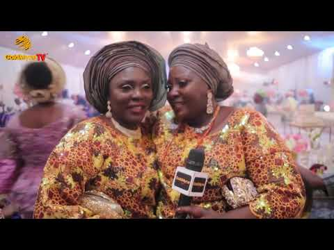 WEDDING RECEPTION OF MARIAM & TUNDE IN LAGOS