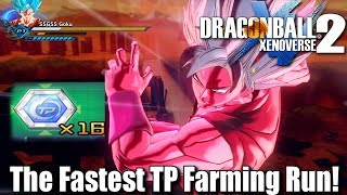 Dragon Ball Xenoverse 2 TP Medal Farming! FASTEST RUN THROUGH! What is you fastest run through!? Hope y'all enjoy!! Have an amazing blessed day and live life to its fullest! :DMake Sure To Follow Me On Social Media!!Twitter: https://twitter.com/jrzsaiyanInstagram: https://www.instagram.com/jrzsaiyan/Twitch: http://www.twitch.tv/jrzsaiyan