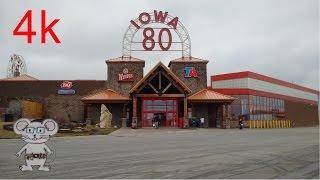 Walcott (IA) United States  city photos gallery : World's Largest Truckstop (Iowa 80) Walcott, Iowa in 4K