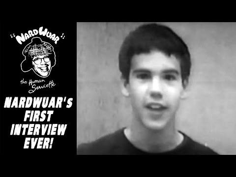 Nardwuar's First Interview Ever ! (1985)