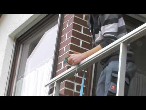 Montage Balkonverkleidung Alu