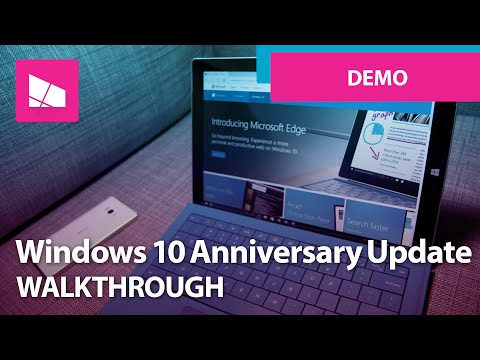 Windows 10 Anniversary Update - Official Release Demo