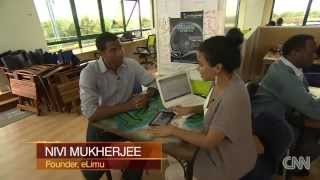 #INSIDE-AFRICA, THE KENYA EDITION::[CNN's ERROL BARNETT At The Ihub]