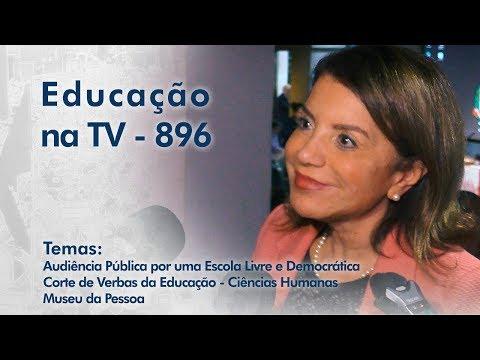 Audiência Pública por uma Escola Livre e Democrática / Corte de Verbas da Educação - Ciências Humanas / Museu da Pessoa