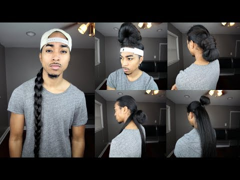 Quick Hairstyles with Long Straight Hair   Men Hairstyles