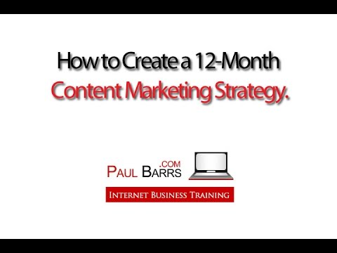 Your Content Marketing Strategy for 2014