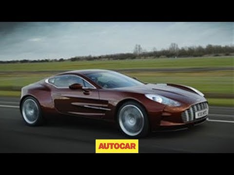 aston martin one-77 - test drive