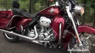 6. Used 2013 Harley Davidson CVO  Road King Motorcycles for sale in Tallassee FL
