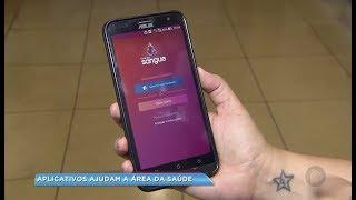 Aplicativo para celular facilita a doação de sangue em Sorocaba