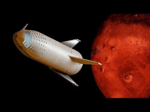 SpaceX Mars Landing update_Űrhajó videók