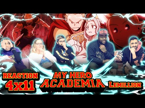 My Hero Academia - 4x11 Lemillion - Group Reaction