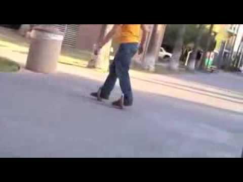 lo skateboard senza tavola! assurdo ma esiste davvero!