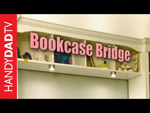 How to Build a Bookcase Bridge (IKEA Billy Hack)