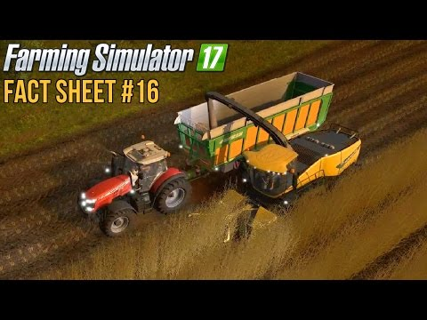 FARMING SIMULATOR 17 FACT SHEET #16
