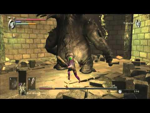 Demon's Souls - Killing Vanguard (Tutorial Boss)
