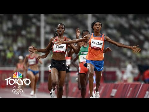 Sifan Hassan trips and falls but ROARS BACK to win 1500m prelim | Tokyo Olympics | NBC Sports