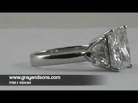 GIA Certified Princess Cut Diamond Ring