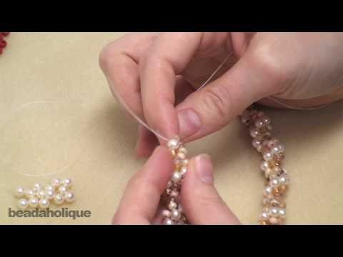 How to Do Spiral Rope Stitch for Beading & Make a Bracelet