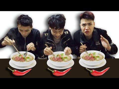 NTN - Thi Ăn Phở Và Ớt Cay ( Spicy chili Pepper ) (видео)