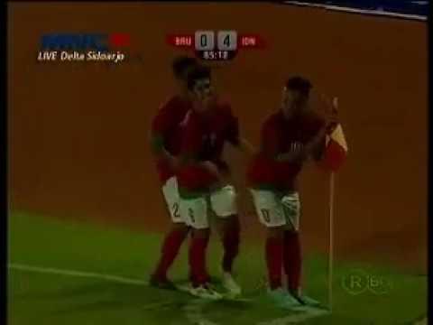 Indonesia vs Brunei Darussalam 5 0 Goal & Highlight   AFF U19   10 September 2013 1 online video cut