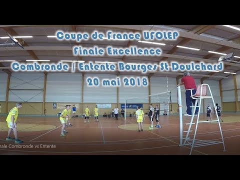 Finale Coupe de France Excellence UFOLEP 2018 Combronde/Entente Bourges Saint Doulchard