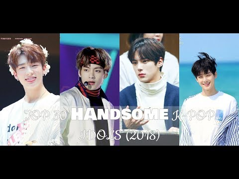 Top 35 Handsome K-pop Idols 2018