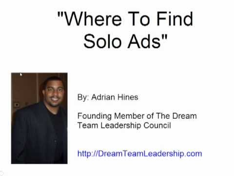 Solo Ads| Where To Buy Best Solo Ads|Dream Team Leadership Council - Day 1
