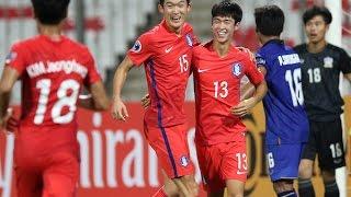Video Thailand vs Korea Republic (AFC U-19 Championship: Group Stage) MP3, 3GP, MP4, WEBM, AVI, FLV Agustus 2018
