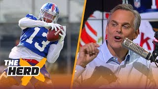 Colin Cowherd on Odell's contract talks in New York, the Browns QB spot in 2018 | NFL | THE HERD