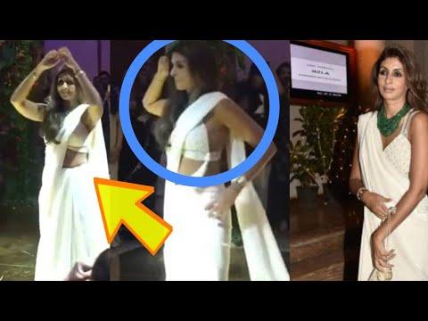 Shweta Bachchan Dance Video RARE SIGHT At Sandeep