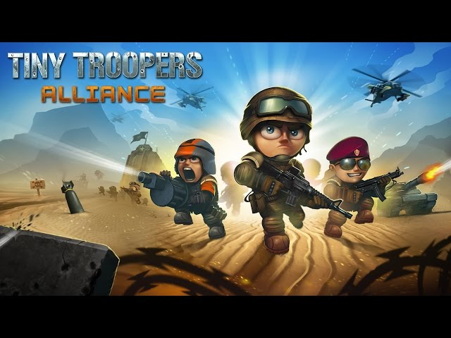 Tiny Troopers: Alliance - Google Play trailer