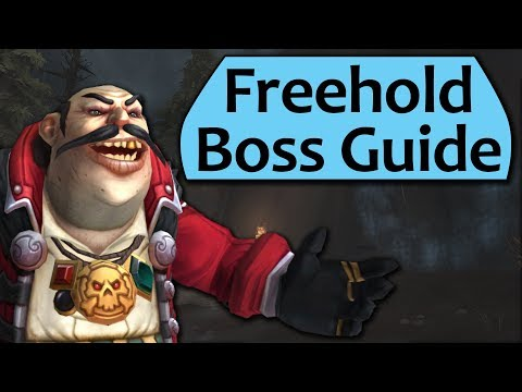 Freehold Dungeon Guide - Heroic and Mythic Freehold Boss Guides (видео)