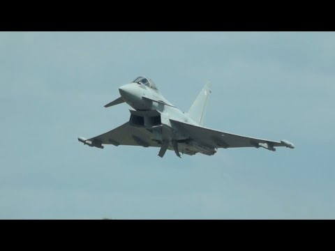2x Eurofighter EF-2000 Typhoon...