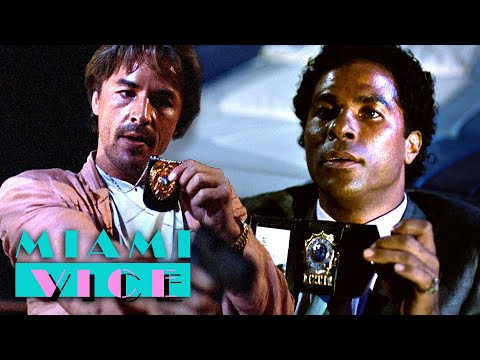Crockett Meets Tubbs For The First Time | Miami Vice