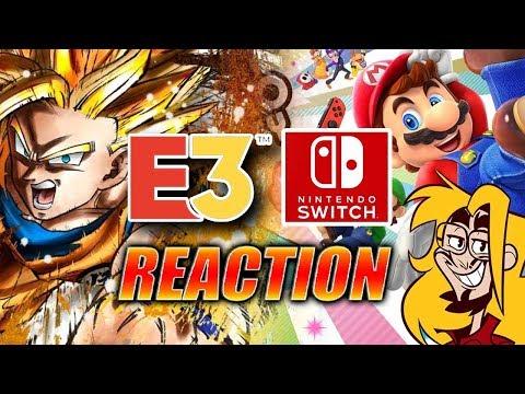 MAX REACTS: E3 Nintendo Direct 2018 -FULL-