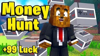 Minecraft Gaming Lucky Block Money Hunt - Minecraft Modded Minigames | JeromeASF