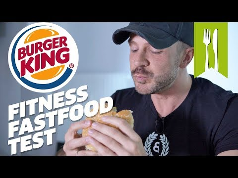 Burger King im Fitness Fastfood Test