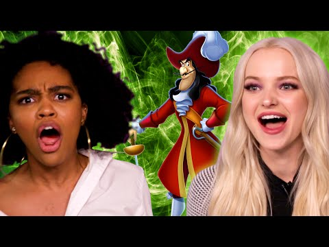 """""""Descendants 2"""" Stars Find Out Which Disney Villain They Are"""